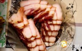 Грудика свиная соленая или домашний шпик