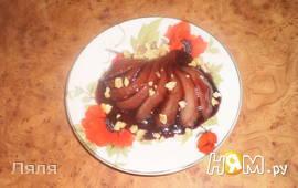 Десерт груши в вине