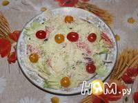 Приготовление салата с яйцами и айсбергом: шаг 8
