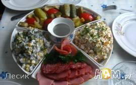 """салат """"Грибочек"""""""