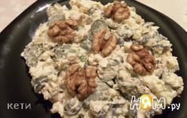 Яичный салат с оливками