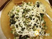 Приготовление салата из яиц и оливок: шаг 5