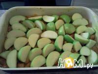 Приготовление запеканки из тыквы и яблок: шаг 7