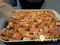 Приготовление запеканки из тыквы и яблок: шаг 9