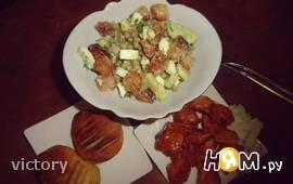 Курица в кисло-сладком соусе с гарниром