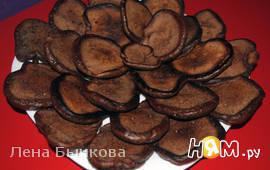 Шоколадные оладьи (дрожжевые)