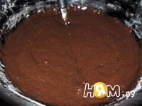Приготовление шоколадных оладий: шаг 3