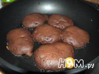 Приготовление шоколадных оладий: шаг 5