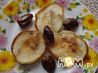 Приготовление оладий с грибами: шаг 3