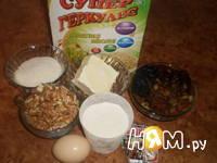 Приготовление овсяного печенья с сухофруктами: шаг 1