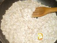 Приготовление овсяного печенья с сухофруктами: шаг 2