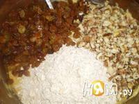 Приготовление овсяного печенья с сухофруктами: шаг 6