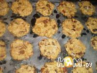 Приготовление овсяного печенья с сухофруктами: шаг 9