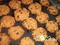 Приготовление овсяного печенья с сухофруктами: шаг 10