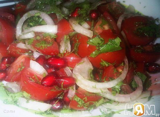 Простой и быстрый восточный салат