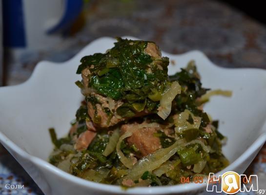 Сябзи гоурма (мясо тушеное с зеленью)