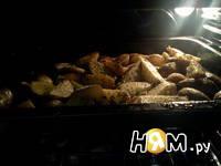 Приготовление картофеля по-селянски: шаг 5
