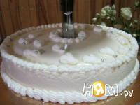 Приготовление торта белое суфле: шаг 7