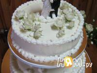 Приготовление торта белое суфле: шаг 8