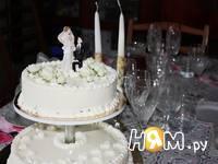 Приготовление торта белое суфле: шаг 9