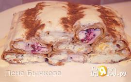 """Десерт """"Три желания"""" блинный"""