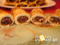 Приготовление блинов с орехами: шаг 7