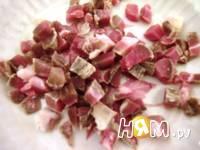 Приготовление салата с грейпфрутом и ветчиной: шаг 1