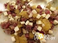 Приготовление салата с грейпфрутом и ветчиной: шаг 4