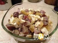 Приготовление салата с грейпфрутом и ветчиной: шаг 5