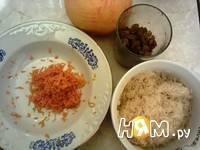Приготовление риса с грецким орехом: шаг 1
