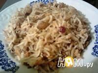 Приготовление риса с грецким орехом: шаг 7