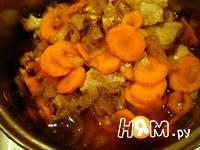 Приготовление свинины в яблочно-сметанном соусе: шаг 4