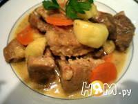 Приготовление свинины в яблочно-сметанном соусе: шаг 10