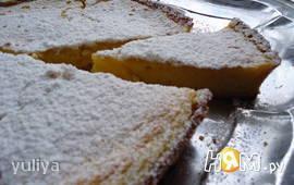 Лимонный пирог по-французски