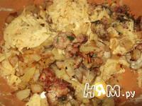 Приготовление картофельной драчены: шаг 6