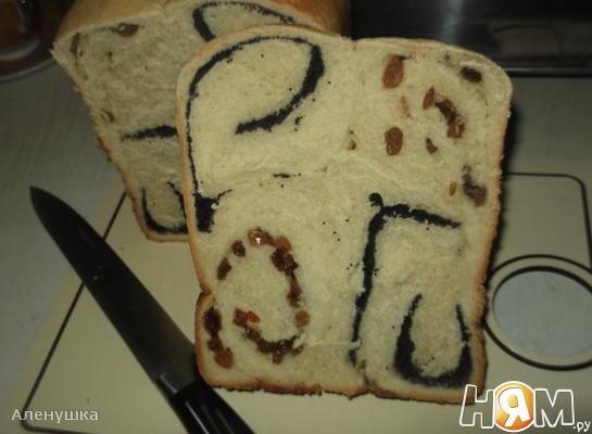 """Белый хлеб """" Маковый завиток"""""""