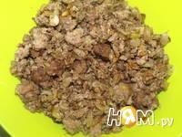 Приготовление пирожков с капустой и мясом: шаг 7