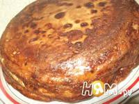Приготовление блинного торта с грибами: шаг 10