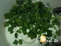 Приготовление блинного торта с грибами: шаг 11
