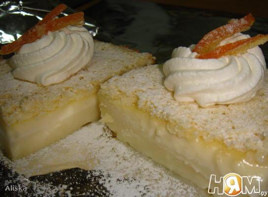 "Рецепт ""Magic Cake"" (магический пирог)"