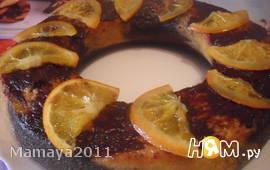 Шоколадно-апельсиновое кольцо