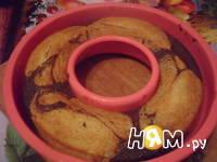 Приготовление шоколадно-апельсинового кекса: шаг 12