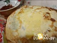 Приготовление блинчиков с капустой и яйцом: шаг 1