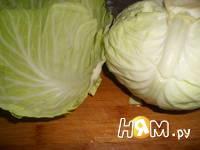 Приготовление салата Щетка: шаг 1