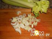 Приготовление салата Щетка: шаг 4