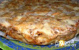 Простой яблочный пирог из сухого теста