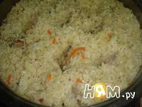Приготовление плова из курицы с изюмом: шаг 8
