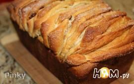 Апельсиновый хлеб - гармошка с изюмом