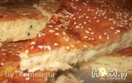 Алжирский домашний хлеб Khobz Dar (регион Батна)
