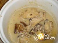 Приготовление скумбрии тушенной в соусе: шаг 5